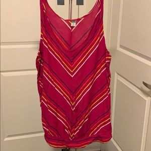Old Navy Striped Maternity Tank Top